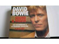Bowie sound and vision 2cds and dvd sealed