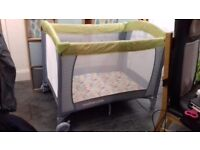 Mothercare travel cot