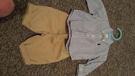 Ralph Lauren shirt&trousers