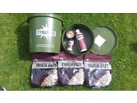 NEW - Dynamite Baits Carp Fishing Tiger Nut Boilies Bait Deal - Loads of items - RRP - £50+