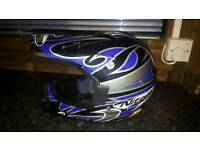 Nitro xl junior motocross helmet and other gear!can deliver or Post!