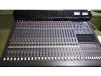 Mackie 24-8 Mixing Desk (plus stand)