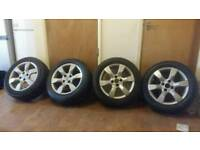 Peugeot 15inch alloys