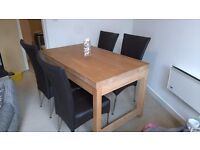 Habitat solid wood dining table - great condition (offers welcome)