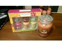 Candles by Home inspirations (yankee candle)