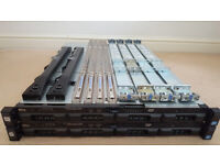 2 x Dell PowerEdge R320 Servers with rails and bezels