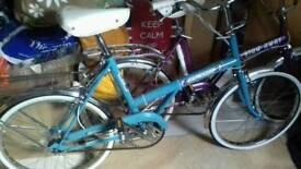 Vintage raleigh twenty bicycle