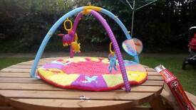 Adventure play mat with lots of toys + extra toys