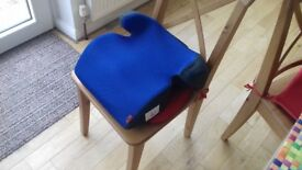Child booster seat as new
