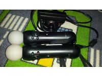ps3 motion controllers and camera