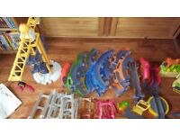 Chuggington Interactive Train Track Set - 5 sets, excellent conditions