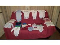 Boys Clothes 0-3 Months Newborn Mixed Bundle