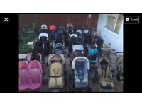 Buggy Stroller Pushchair Pram Tandem Double Twin