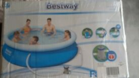 Family swimming pool- £40