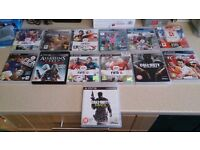 10 PS3 GAMES INCLUDING FIFA AND COD