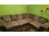 DFS corner sofa in very good condition