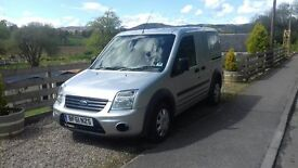 Ford Transit Connect Silver 2011