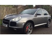PORSCHE CAYENNE 4.5 Turbo Tiptronic S AWD 5dr (2004) £11,495 p/x welcome Full service history