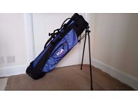Golf Carry Bag PGA Collection with 2 shoulder straps, stand and 3 sizes of pockets.