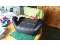 Pamero Booster Seat. This is a Halfords Pamero Booster Seat for child between 4 - 12 years.