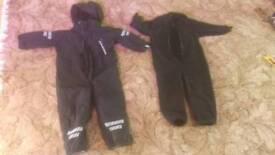 Black toddlers snowsuit 3-4 years