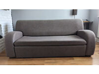 Sofa bed with storage in good condition, Three Setter