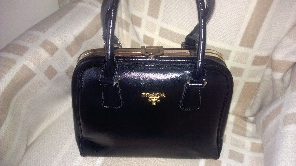 068276f2daa DESIGNER INSPIRED BLACK NEW PRADA HANDBAG