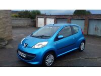 Peugeot 107 for sale 105 thousand miles