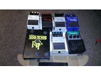 Vintage Boss Effects Pedals - MZ-2,NS-2,DD-3, JHS RockBox MKII, Donner Morpher