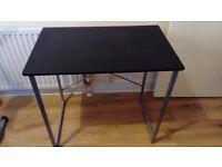 Harbour Computer Desk - Black - Assembled