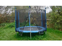 HOUSE CLEARANCE IN SPARKHILL - large 8ft Trampoline REDUCED from £45 to £40