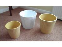 3 Pot Plant Holders in Good Condition.