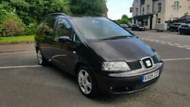 2005 SEAT ALHAMBRA STYLANCE 130 BHP 1.9 TDI 7 SEATER 1 OWNER PX FORD GALAXY VW TOURAN SHARAN