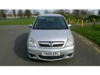 2010 Vauxhall Meriva club 1.4 5 Door Hatchback
