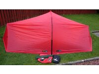 RARE TERRA NOVA LASER TENT IN RED MINT CONDITION MOUNTAIN EQUIPMENT RAB MSR HILLEBERG