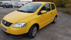 VW FOX75 1.4 manual gearbox.absolutely immaculate .FSH 17k miles ONLY