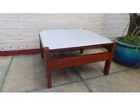 Parker Knoll teak and formica coffee table - delivery