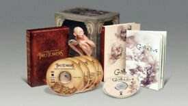 Sealed Lord Of The Rings Fellowship And Two Towers Collector's DVD Gift Sets