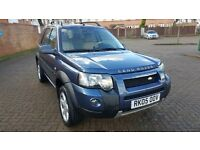 2005 LEFT HAND DRIVE FREELANDER TD4 IN SOUTH EAST LONDON