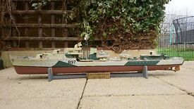 HMS Grenville Scaled Replica Model Boat