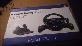 Venom VS2728 Hurricane Steering Wheel plus DriveClub