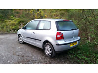 Volkswagen POLO Mk4. Good runner.