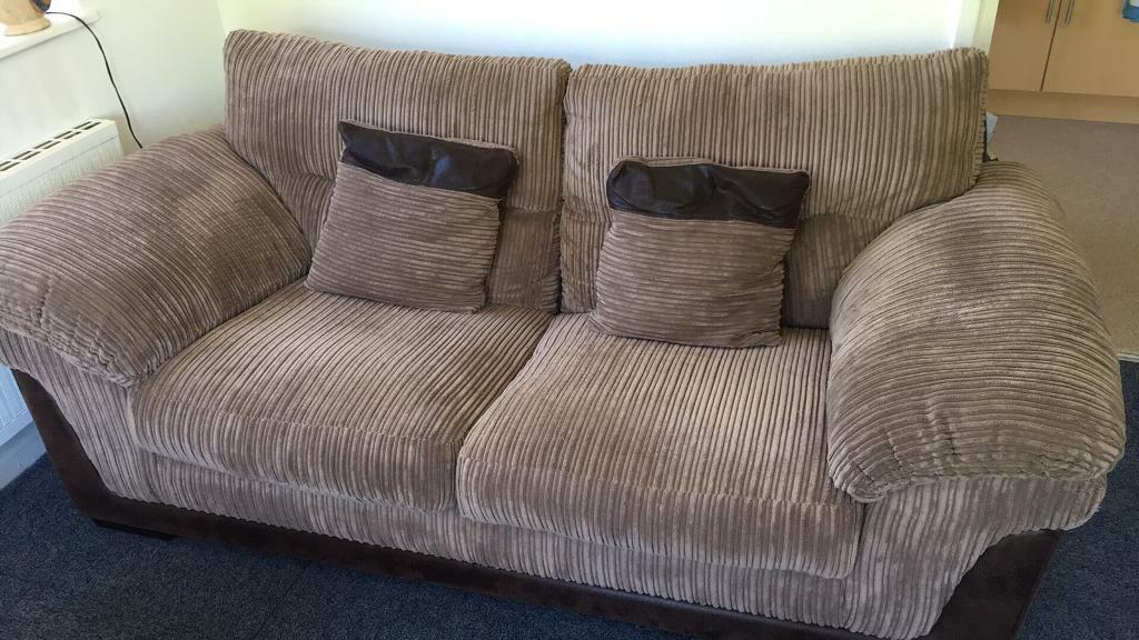 kendal medium jumbo cord 2 5 sofa taupe in notting hill london gumtree. Black Bedroom Furniture Sets. Home Design Ideas