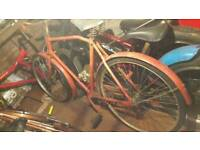 Old bakers bike