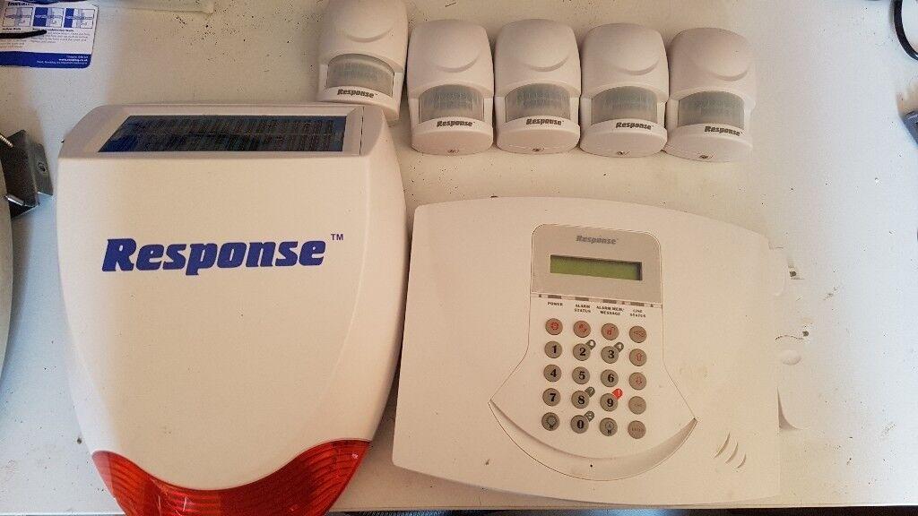 Friedland Response Wireless Solar Alarm Sl6 Telecoms With 2