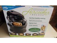 JML Halowave Aircooker Deluxe Halogen Air Cooker BLACK NEW