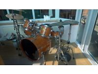 Pearl Session Custom 9 Piece Drum Kit