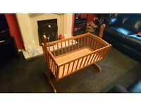 Swinging Baby Crib early 80s