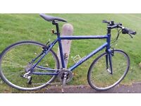 """CARRERA HYBRID BIKE..21.5"""" FRAME..700c WHEELS..EXCELLENT CONDITIONS BIKE…READY TO RIDE"""