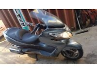 2008 SUZUKI BURGMAN AN400 K8 400CC GREY MAXI SCOOTER BIKE MOTORCYCLE